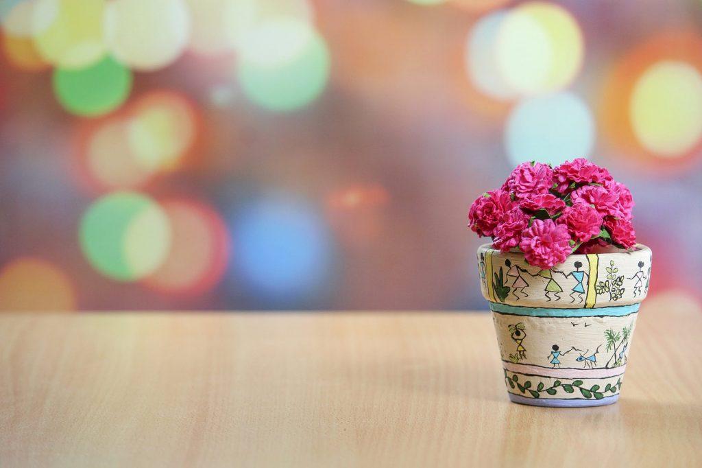 盆栽,花盆,摆件,小清新
