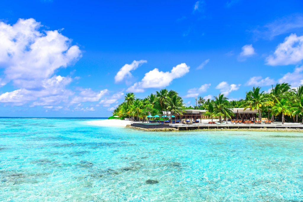 阳光沙滩,海滩,椰子树,旅游,风景
