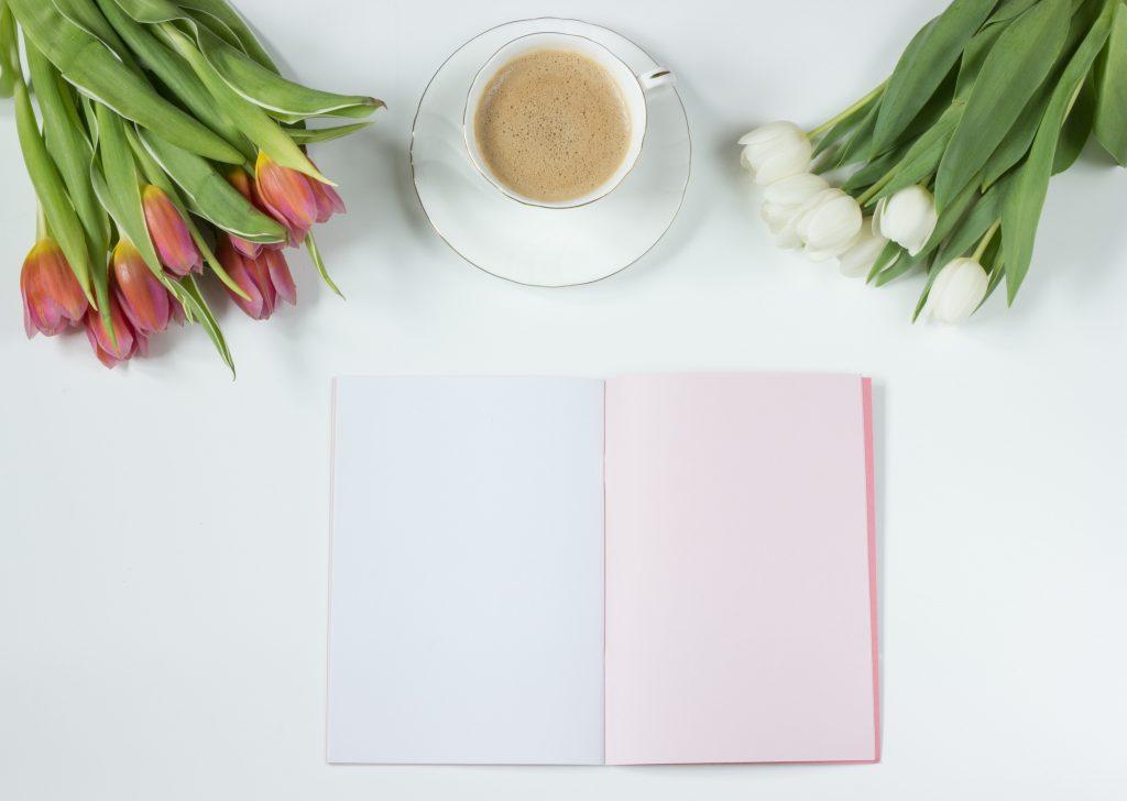水仙花,桌面,笔记本